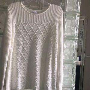 White/Winter White Sweater